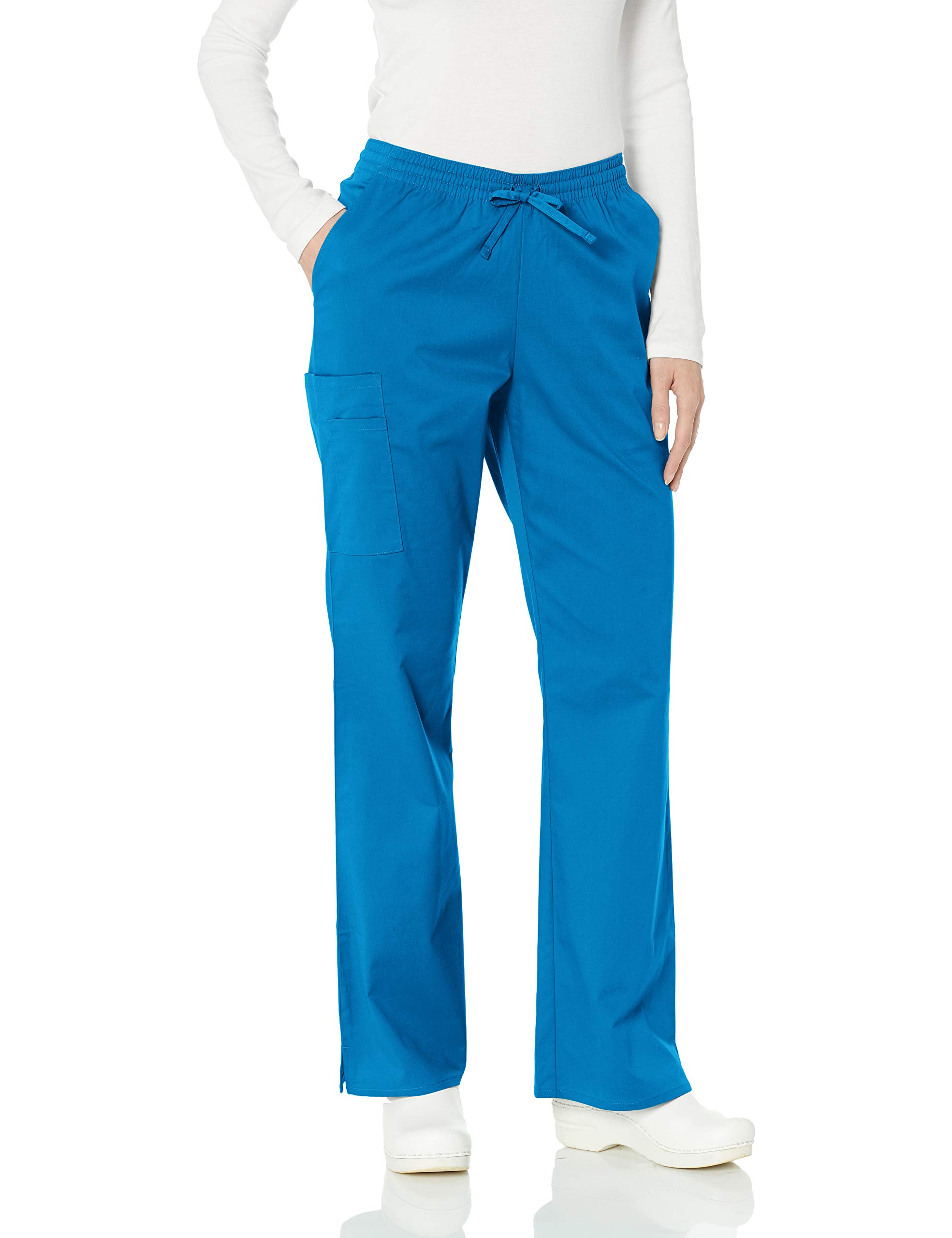Amazon Essentials Women's Quick-Dry Stretch Scrub Pant, Royal Blue, X-Large