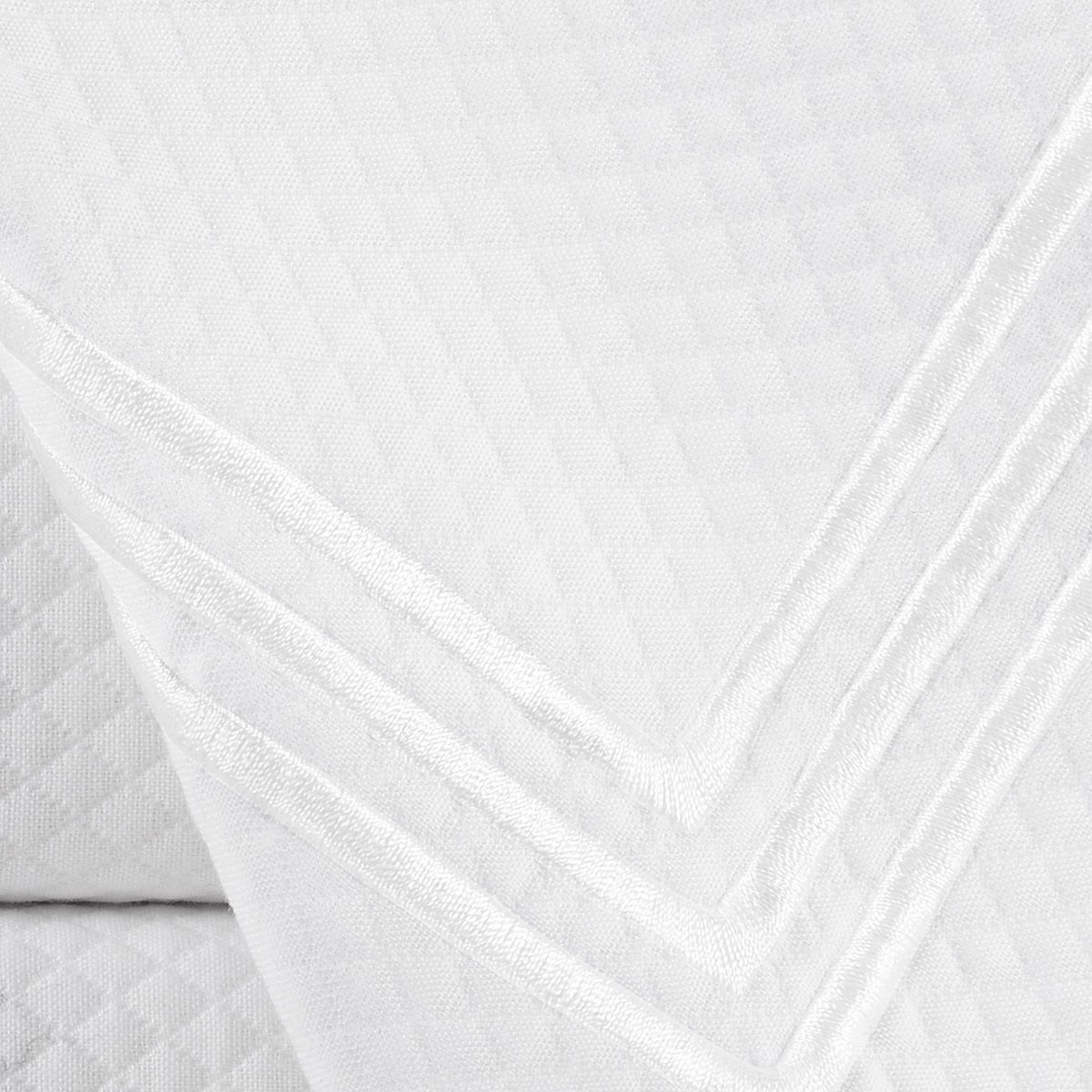 Echelon Home Echelon Hotel Collection Three Line Shower Curtain, Light Grey by Echelon Home (Image #4)