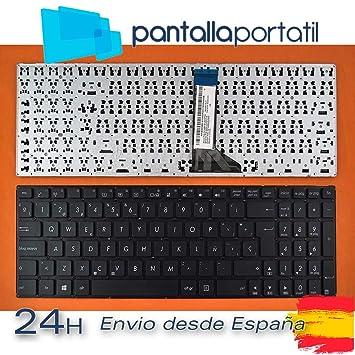 Desconocido Teclado español para ASUS F553MA F555L Pieza PORTATIL: Amazon.es: Electrónica