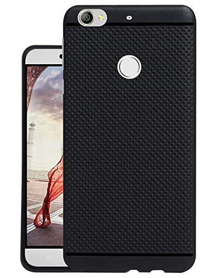 online retailer 63885 69c9d Jkobi® Classic Dotted Designed Soft Rubberised Back Case Cover for Letv Le  1s (LeEco) - Black