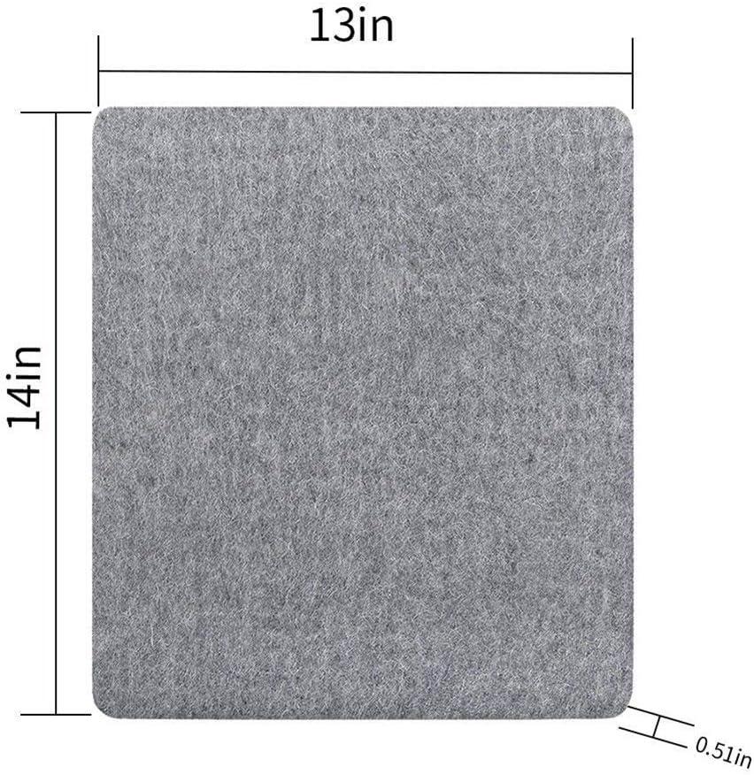 basku Wool Ironing Mat Wool Pressing Mat for Quilting Portable Wool Pressing Pad Sewing Ironing Pad Perfect Ironing Station for Quilting! 10x10 inch 12x14 Inch