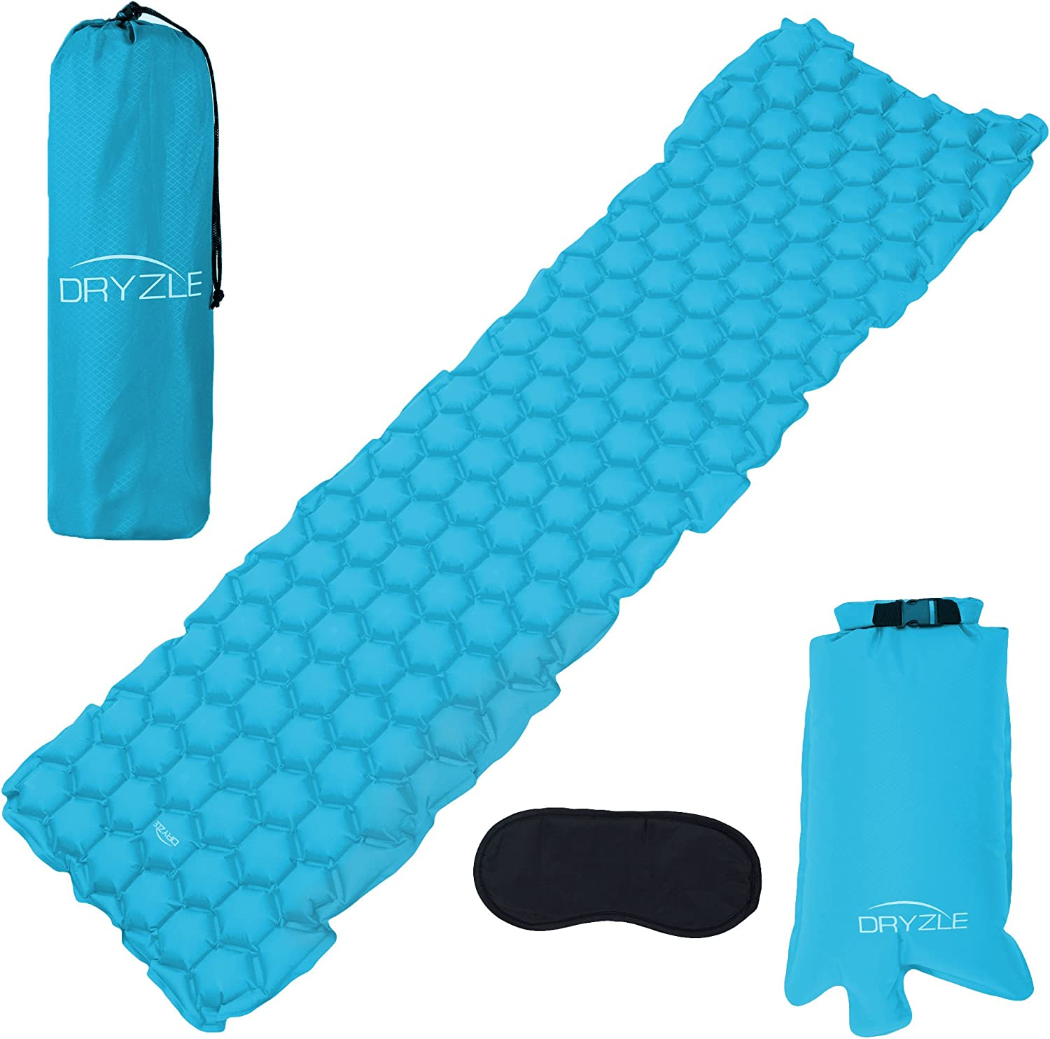 Speedsporting Inflatable Sleeping Mat by Camping Mattress and Inflatable Roll Mat- Compact and Moistureproof Hammock,Tent Backpacking for Hiking