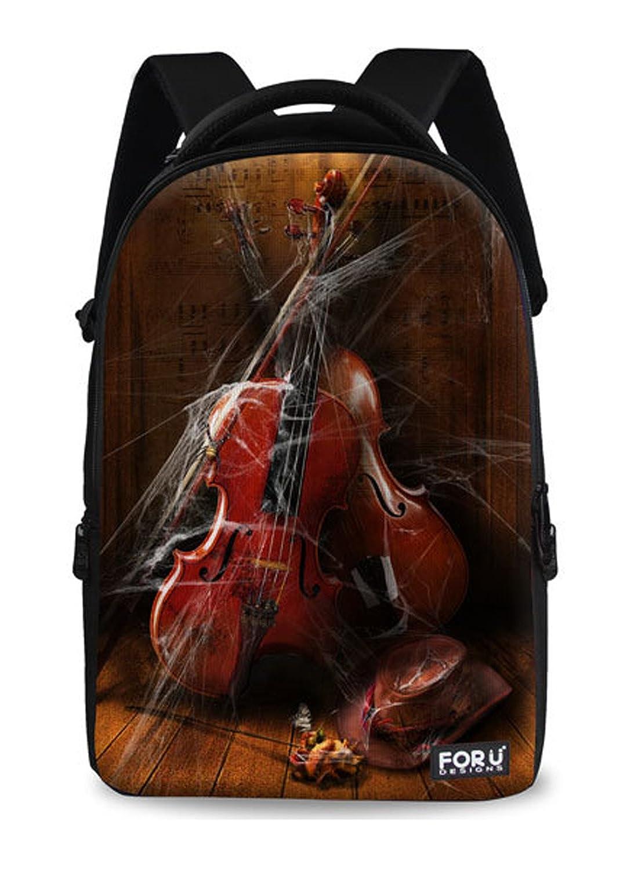 Keshi Young People Backpack Student Bag School Bag Traveling Bag Day Bag Laptop Bag Canvas
