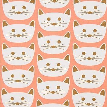 Art Gallery Fabrics Tela de Gatos, colección: Blush, Diseño: Dana Willard: Amazon.es: Hogar