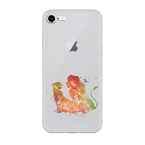 coque iphone 5 le roi lion silicone