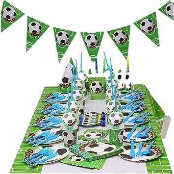 Amazon.com: Suministros para fiestas de fútbol, decoración ...