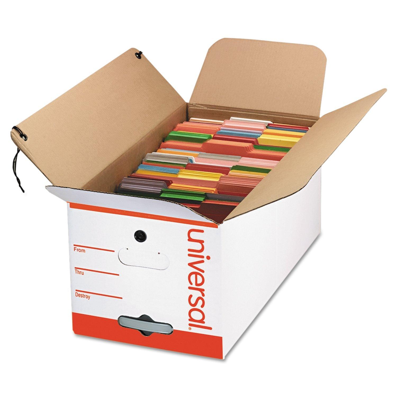 Universal economía caja de almacenamiento, corbata estrecha, carta ...