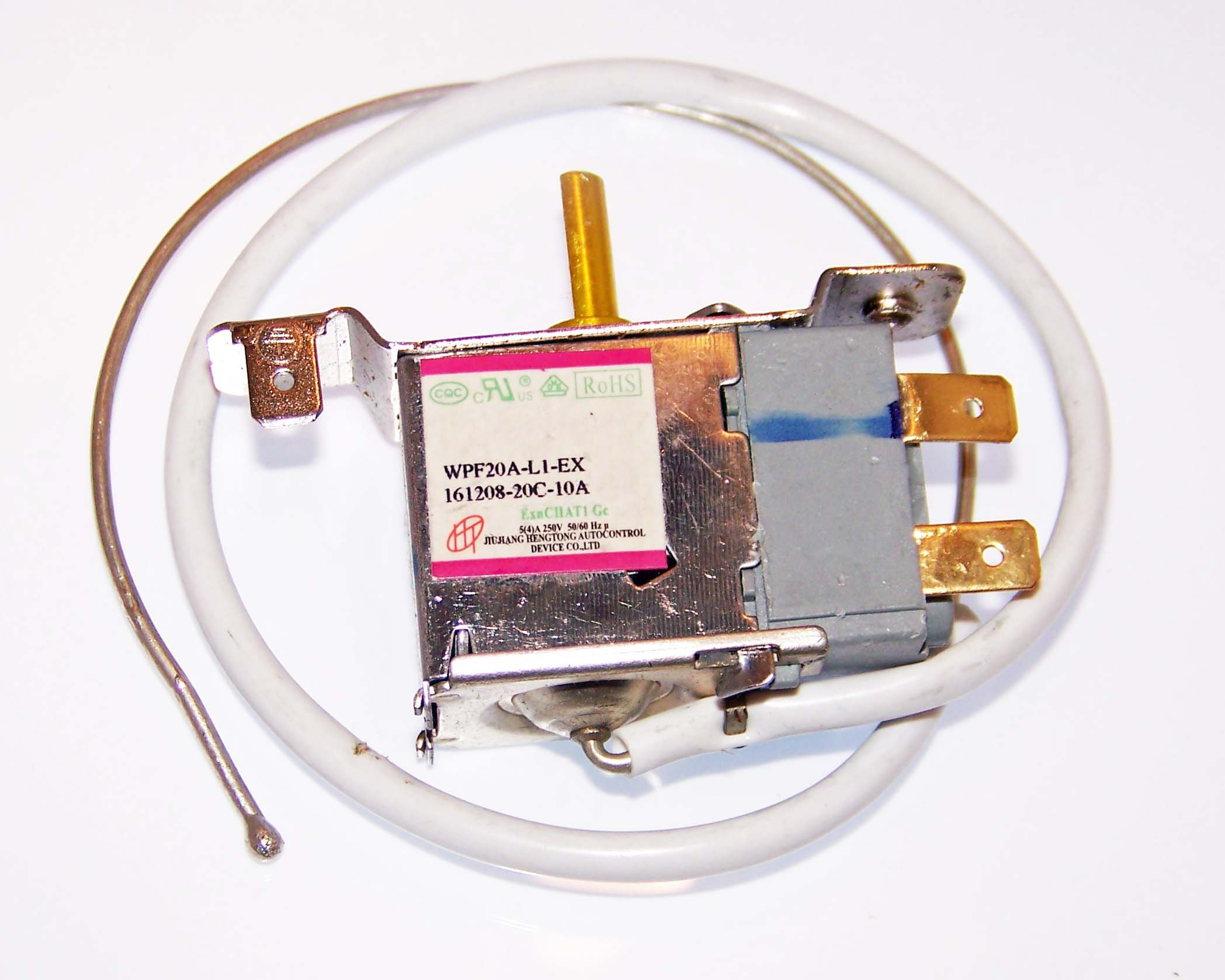 OEM Haier Refrigerator Thermostat For Haier BCE46B, HNSE045, HNSE045BB, HNSE045VS, HNSE04BB