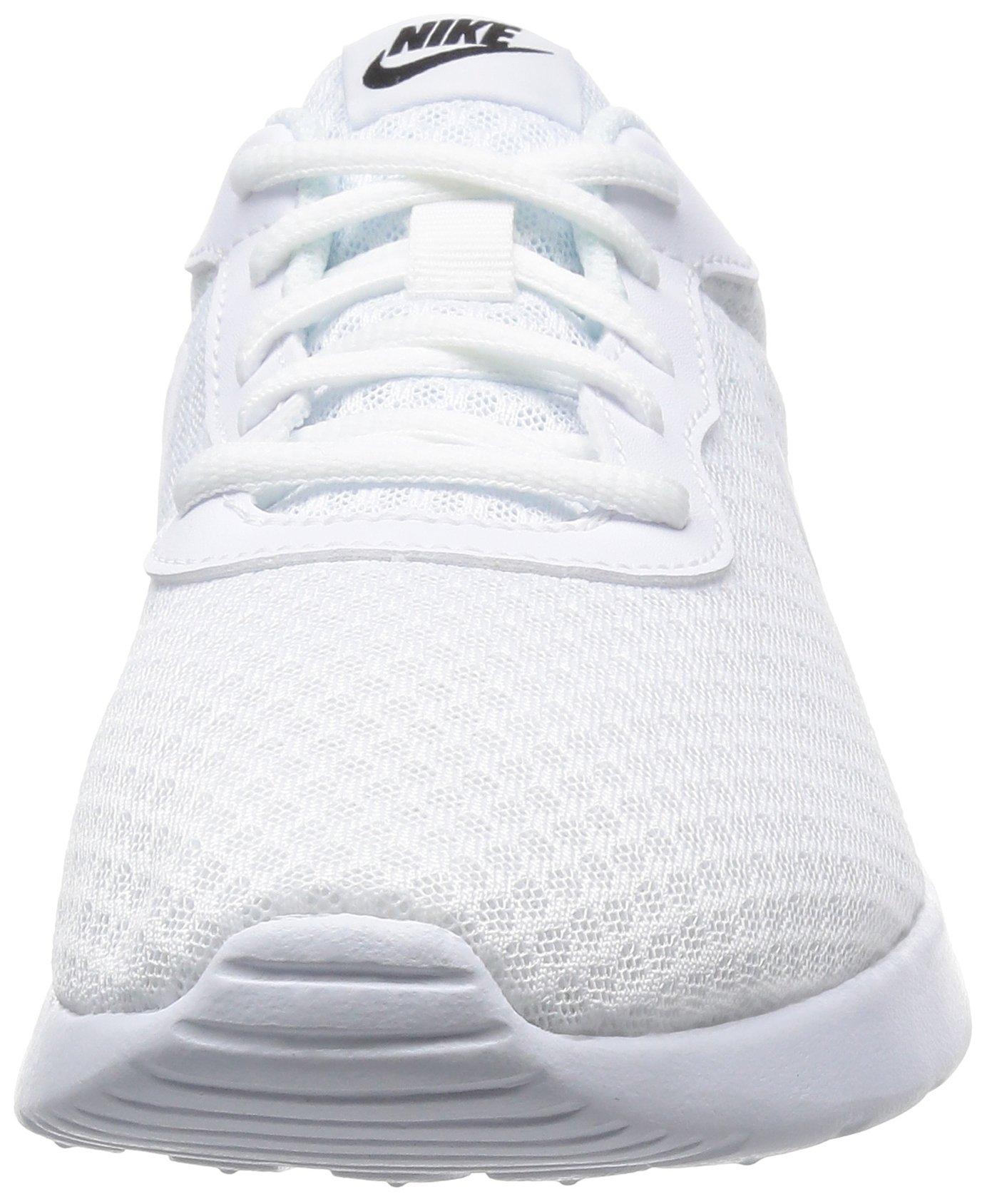 NIKE Mens Tanjun Running Shoes WhiteBlack 812654 110 Size
