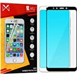 DMG Tempered Glass Curved Screen Protector Guard for Xiaomi Mi A2 (Black)