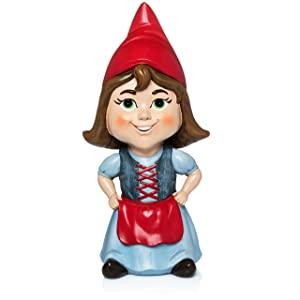 Ava The Little Brown Haired Gnome by Twig and Flower