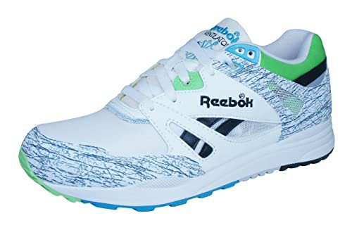 ada172cb86a Reebok Fan Vintage Leather Mens Trainers White V61923  Amazon.co.uk  Shoes    Bags