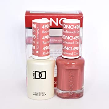 Amazon Com Dnd Gel Matching Polish Set 490 Redwood City Beauty