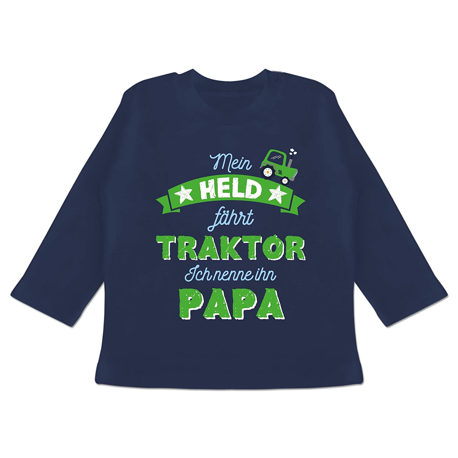 Mein Papa ist Mein Held Shirtracer Vatertag Baby Baby Pullover