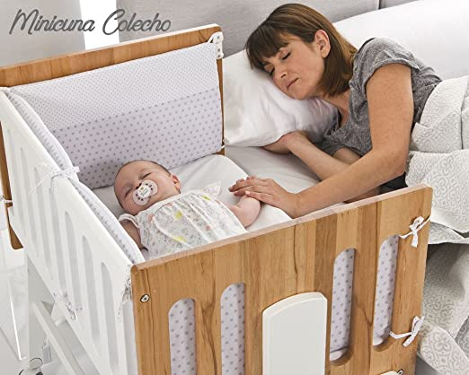 Bolin Bolon Collection 2018 minicuna colecho Nicola Color blanco-natural: Amazon.co.uk: Baby