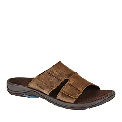 7505327b9ceb Vionic Jon Mens Slip-on Orthotic Sandal Brown - 7