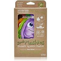 Little Mashies Reusable Food Pouches 10pk (Mixed Colours)