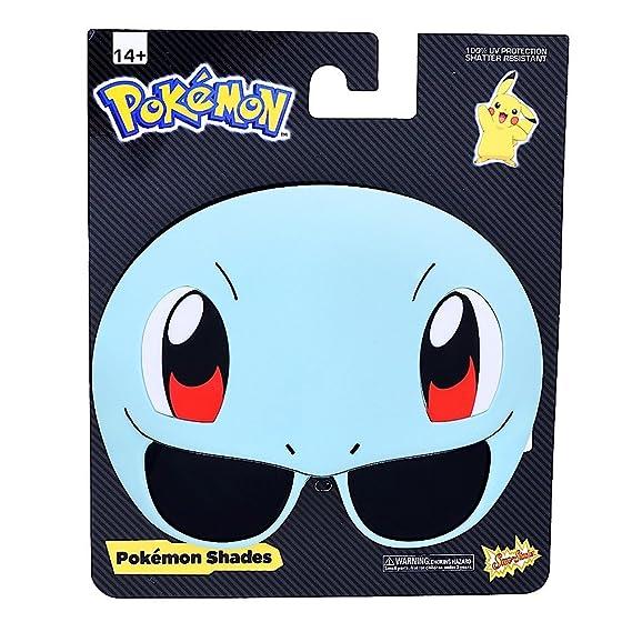 Sun-Staches Pokemon Sunglasses (Pikachu, Squirtle, Bulbasaur)