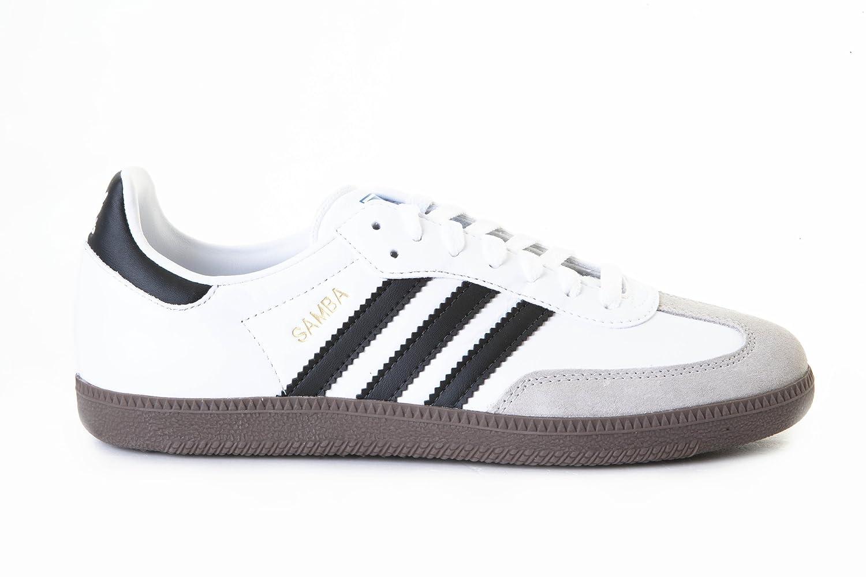 adidas samba g17102 bianco nero gomma formatori per gli uomini: