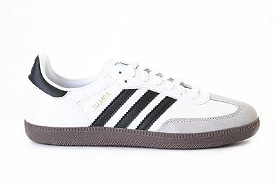 Adidas Samba G17102 White Black Gum Trainers for Men