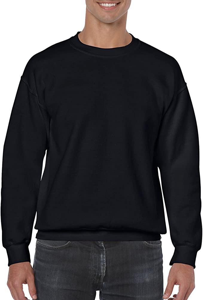 GILDAN Mens Fleece Crewneck Sweatshirt Shirt