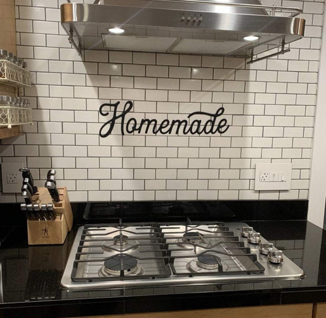 Homemade Sign, Metal Homemade Sign, Kitchen Decor, Kitchen Sign