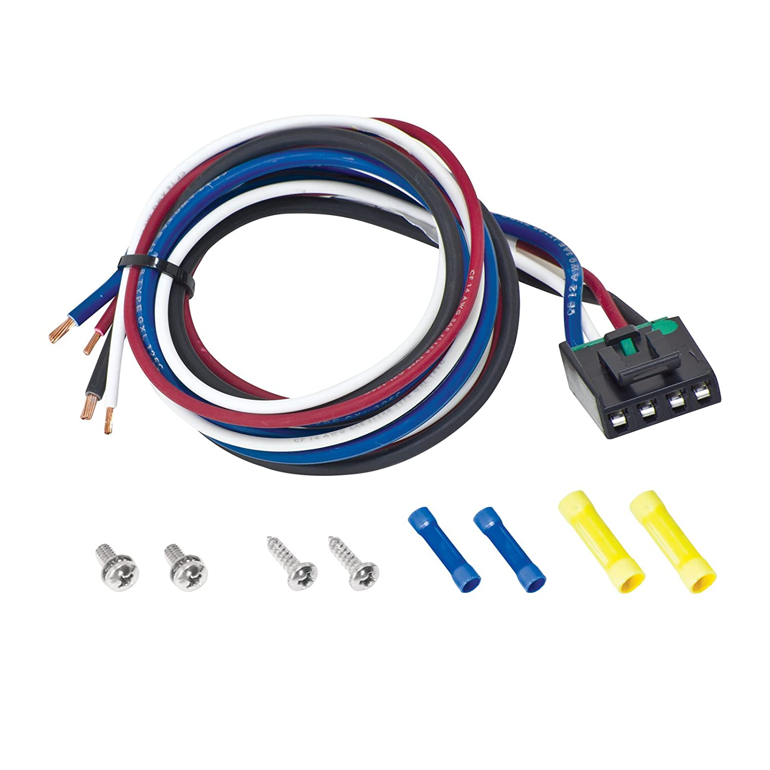 71jCJaf1RuL._SL1500_ amazon com tekonsha 7894 brake control pigtail harness kit Toyota Stereo Wiring Diagram at gsmportal.co
