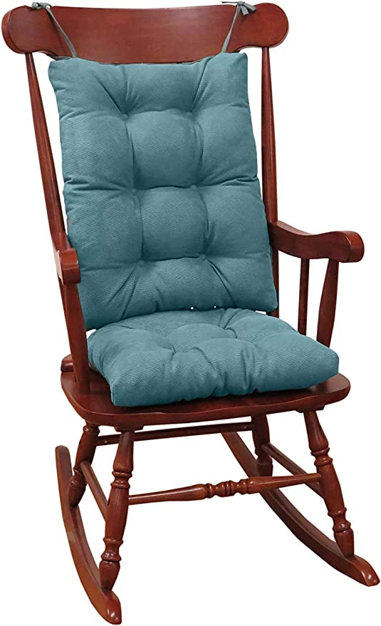 Klear Vu Twillo Overstuffed Rocking Chair Cushion Set Seat 17 X 17 And Seatback 21 X 17 Marine Home Kitchen Amazon Com