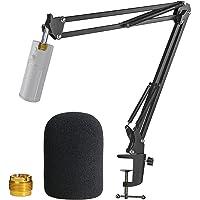 Razer Seiren X Mic Stand met Pop Filter - Mic Boom Arm met Foam Cover Voorruit voor Razer Seiren X Streaming Microfoon…
