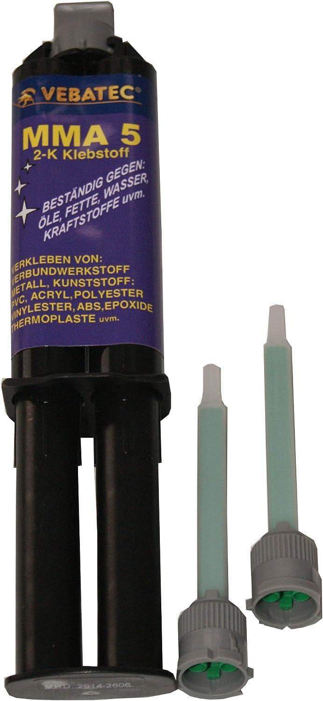 Vebatec Mma 5 Kunststoffkleber Metallkleber Klebstoff Kleber 3 99 10 Ml Auto