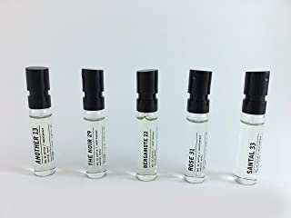 product image for Le Labo Discovery Set - An0ther 13, Bergamote 22, Rose 31, Santal 33 and The Noir 29 - .05 ounce Unisex Spray Samples