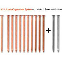 "1 1//2/"" Annular Ring Shank Solid 304 Stainless Steel Roofing Nails 10ga. 50 pcs"