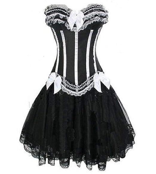 Forever Young Burlesque Moulin Rouge Lolita Vestido Vestido corsé ...