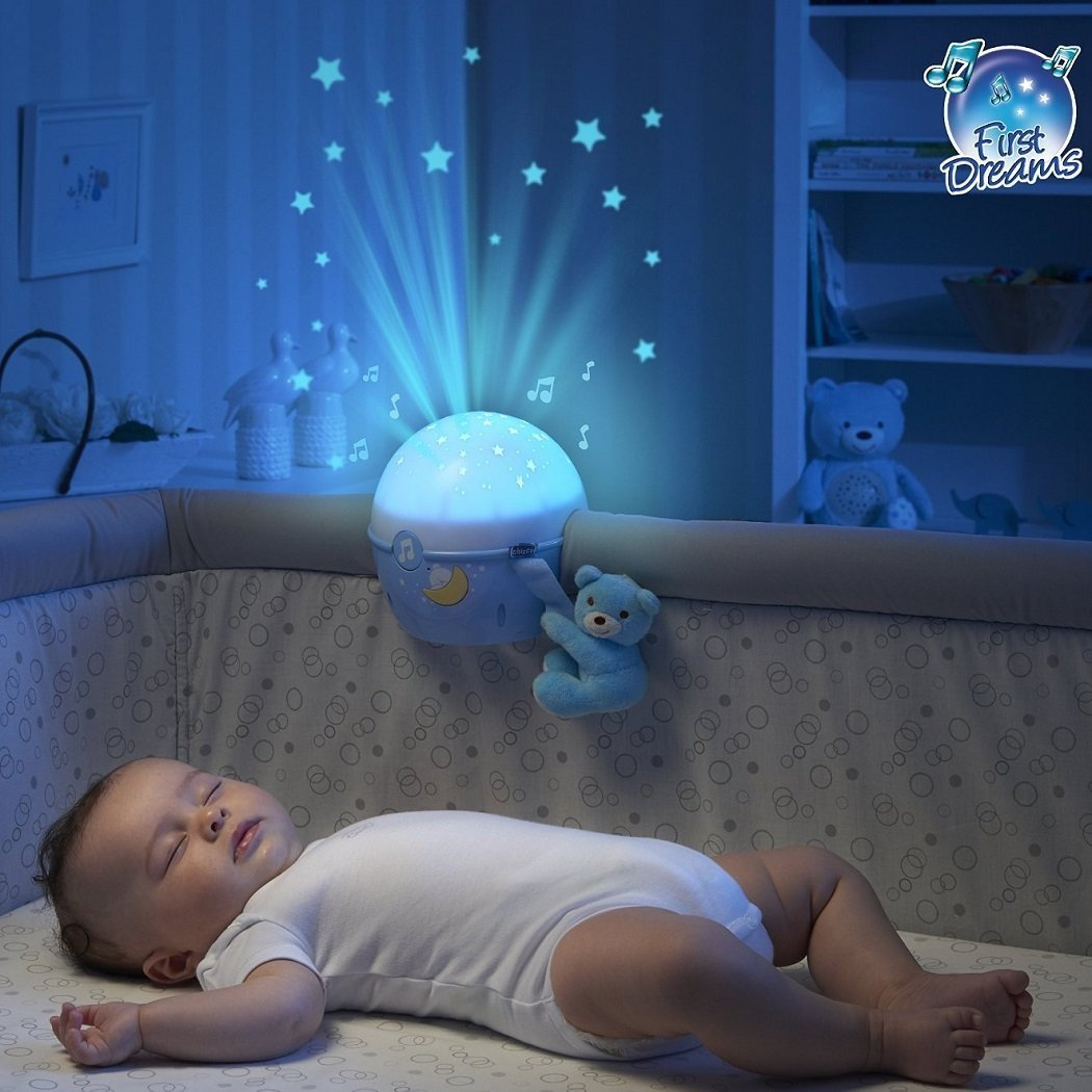 Chicco Next 2 Stars Projecteur de lit pour berceaux et lits de voyage Bleu: Amazon.es: Bebé