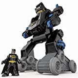Fisher Price Imaginext DC Super Friends R/C Remote Control Transforming Batbot
