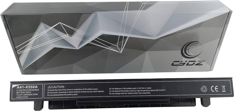 A41-X550 A41-X550A 3500mAh 14.4V batería para ASUS E550CA E550CC E450CA E450CC E450CD E450EP F552CA F552CC F552CL F552DP F552EA F552EP F552IU FX550JX FX550LA FX550MJ FX550VQ FX550VX F450 F452 F550 F552 FX550: Amazon.es: Informática