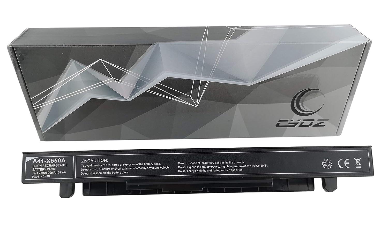 14.4V 3500mAh A41-X550A bateria de Laptop para ASUS F552lav X450CA X450EA X550CA X550CC X550LA X550LB X550LD X550JD X550JK X550LN X550VC X550EP X550WE X552CL X552EA FX50JK F550C R510CA: Amazon.es: Electrónica