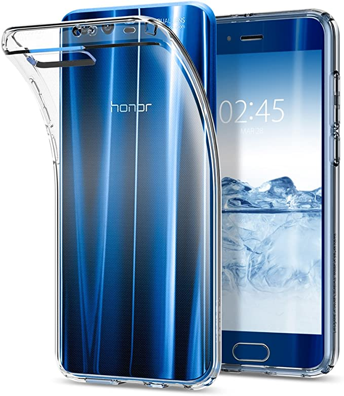 Funda Huawei Honor 9, Carcasa Spigen [Liquid Crystal] Protección ...
