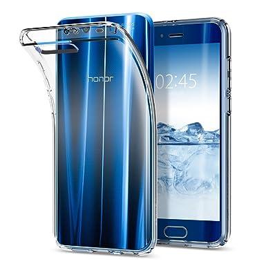 spigen Funda Huawei Honor 9, Carcasa [Liquid Crystal] Protección Delgada y Claridad Premium para Huawei Honor 9 [Transparente]