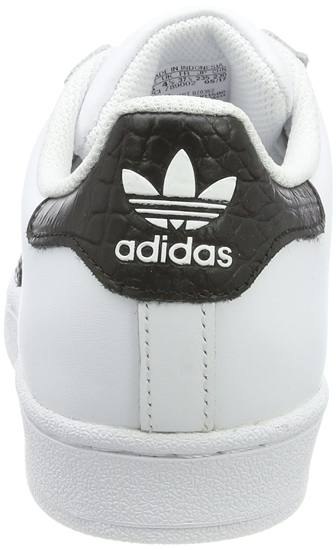 sale retailer 00dc2 d636a Ginnastica Adidas Da Superstar Basse Bianco Bambino Scarpe t