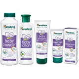 Himalaya Baby Care Baby Grooming Kit, Mini with Free Diaper Rash Cream, 50g
