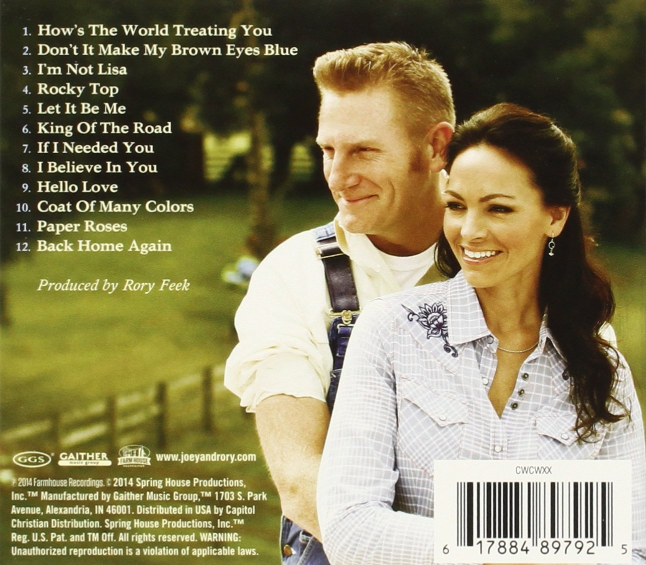 Joey + Rory - Country Classics: A Tapestry Of Our Musical Heritage ...