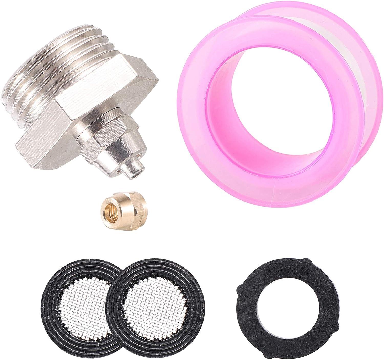 US Standard Faucet Adapter 3/4'' to 1/4'' Hose Adapter Convert 3/4