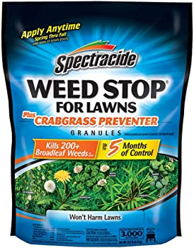 Spectracide Weed Stop for Lawns and Crabgrass Granular Weed Killer Preventer