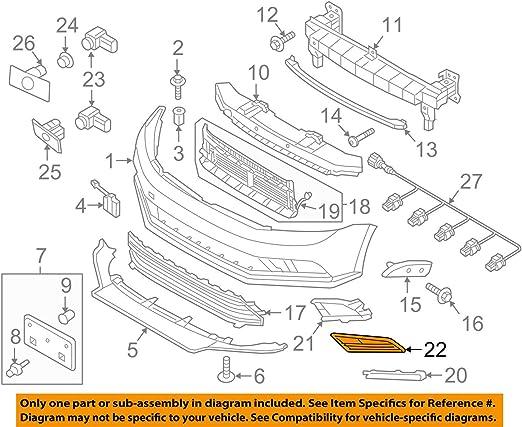 Brand New Fog Light Cover Passenger Side For VW 15-16 Jetta 5C6853665H