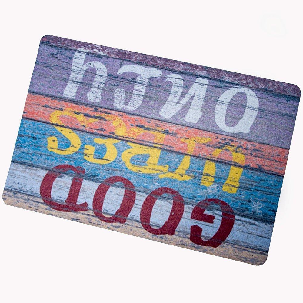 Good Vibes Only Custom Doormat Door Mat Machine Washable Rug Non Slip Mats Bathroom Kitchen