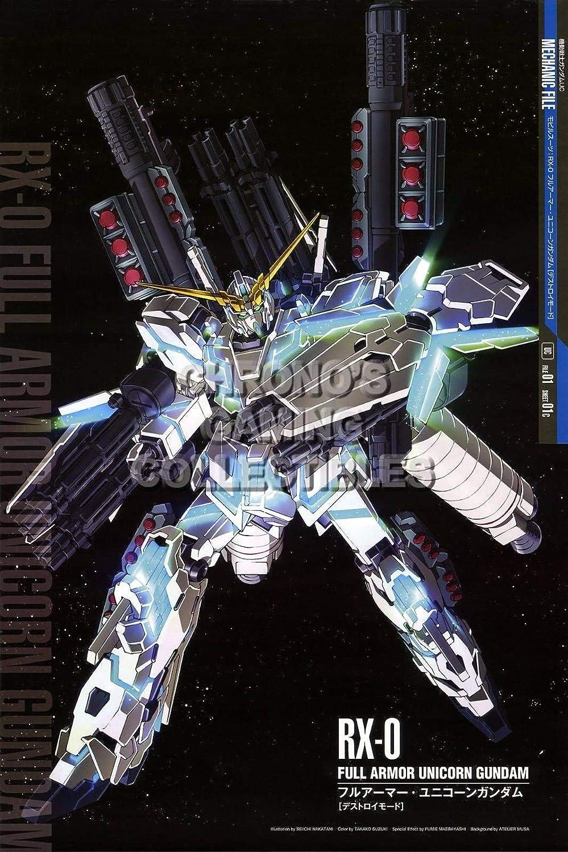 122938 Mobile Suit Gundam Unicorn Anime Decor Decor Wall 16x12 Poster Print