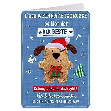 Beste Weihnachtsgrüße.Sheepworld 90479 Klappkarte Mit Umschlag Weihnachten Nr 36
