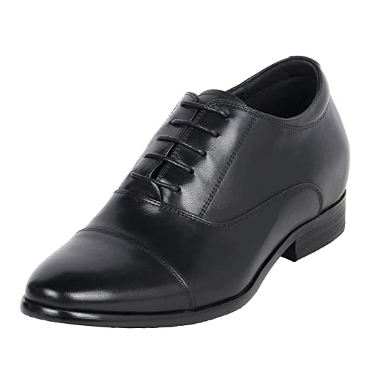 """Short Height Men Shoes Built In Height 3"""" Tall Comfort CYD59"""
