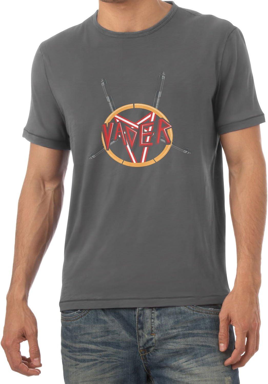 NERDO Heavy Metal Vader Camiseta, Hombre, Gris, Large: Amazon.es: Deportes y aire libre